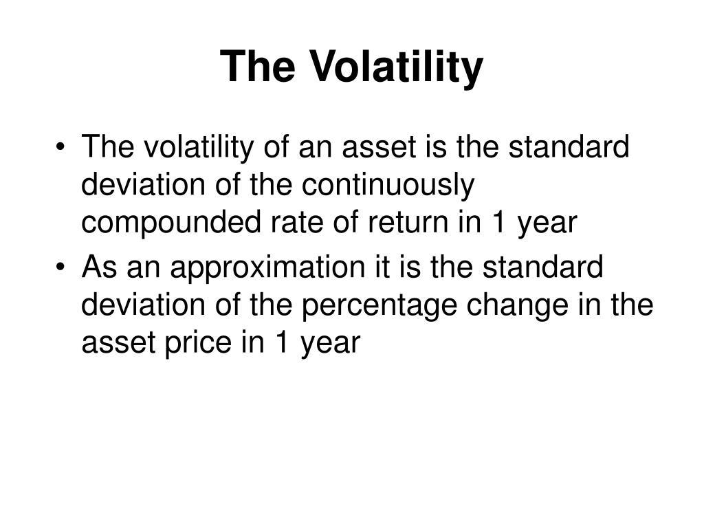 The Volatility