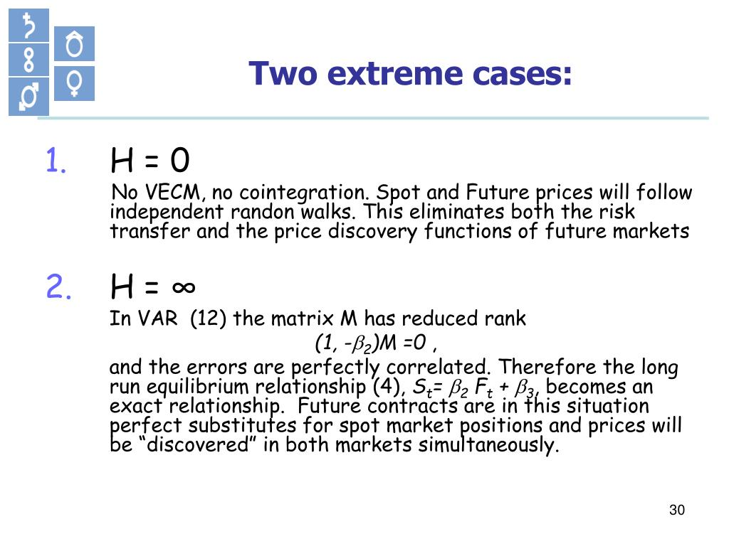 Two extreme cases: