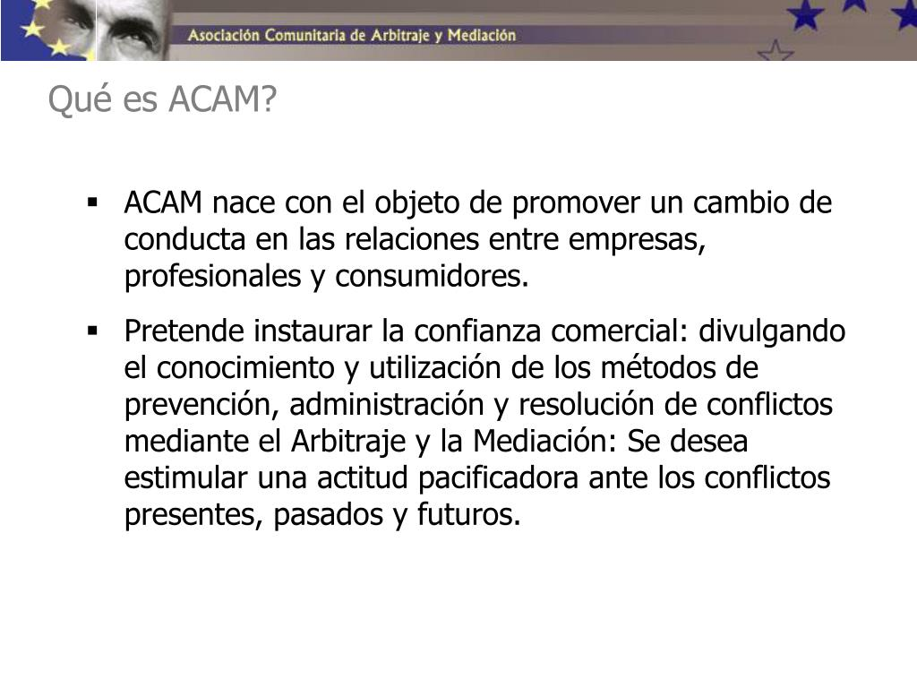 Qué es ACAM?