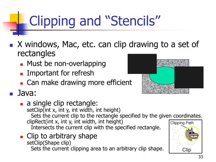 "Clipping and ""Stencils"""