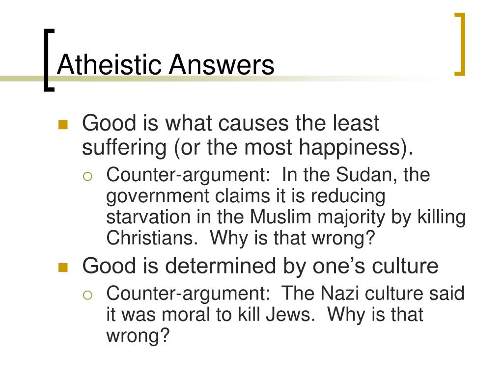 Atheistic Answers