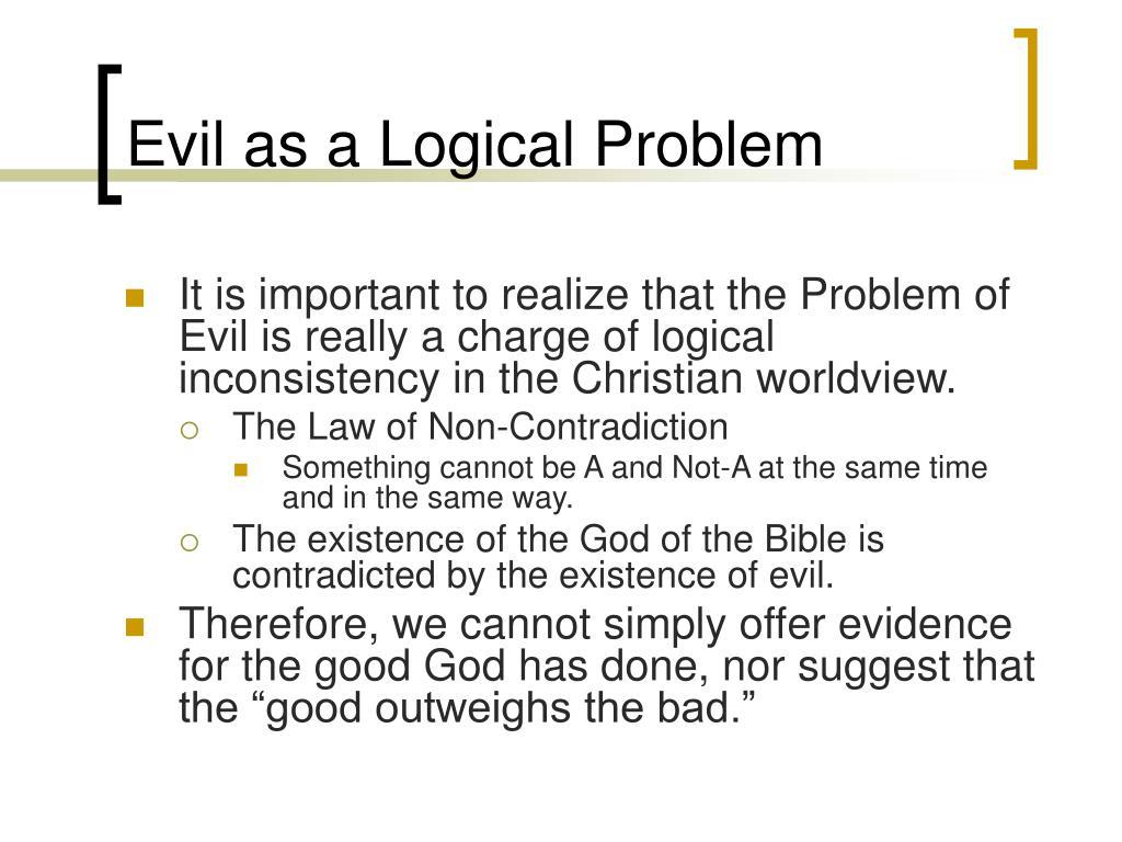 Evil as a Logical Problem