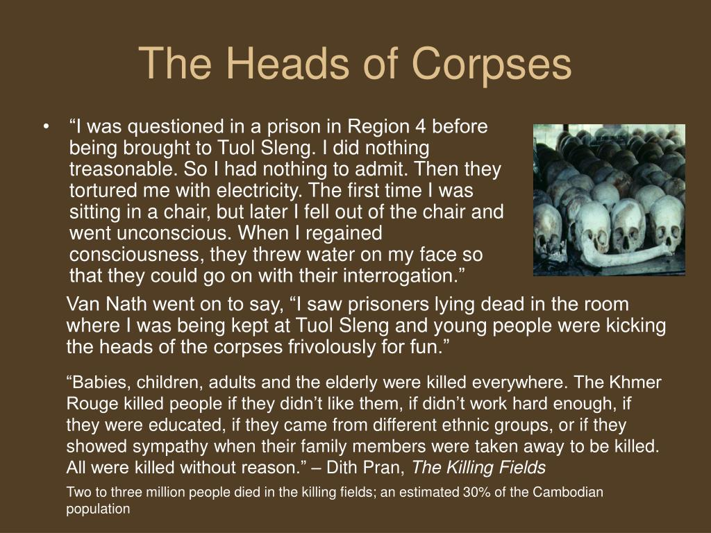 The Heads of Corpses