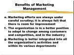 benefits of marketing management7