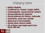 changing users
