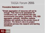 taiga forum 200612