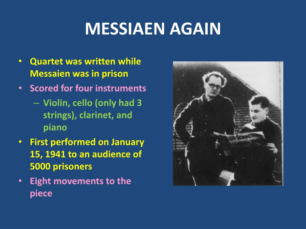MESSIAEN AGAIN
