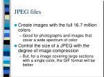 jpeg files