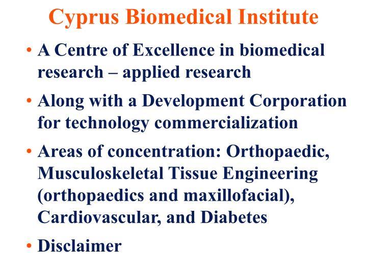 Cyprus Biomedical Institute