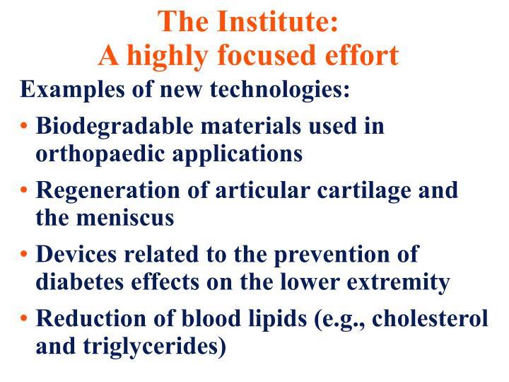 The Institute:
