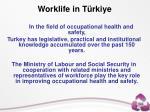 worklife in t rkiye