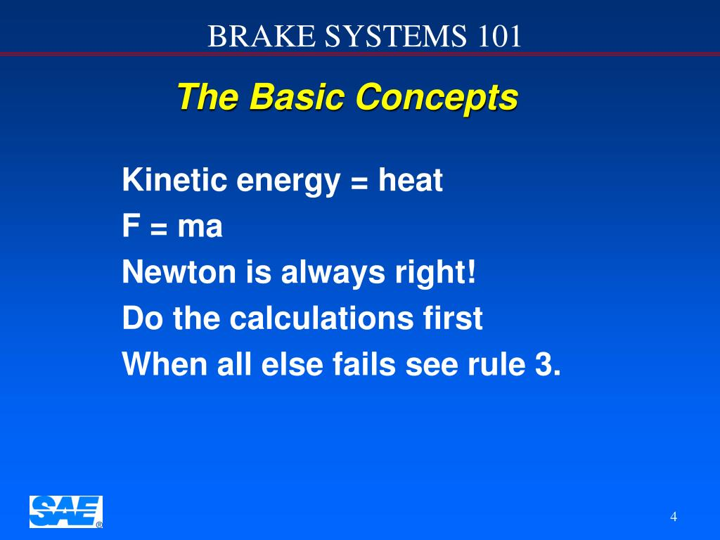 The Basic Concepts
