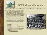 wwii memorial museum dedicated to those who served and their families8