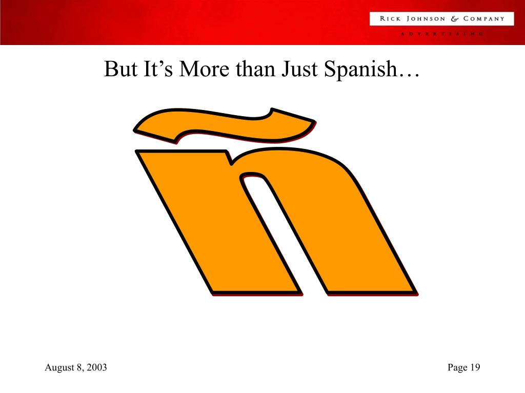 But It's More than Just Spanish…
