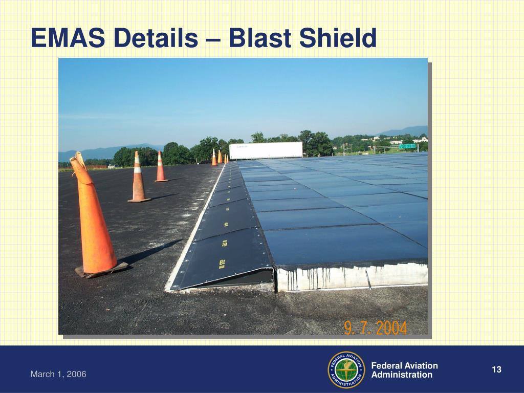 EMAS Details – Blast Shield