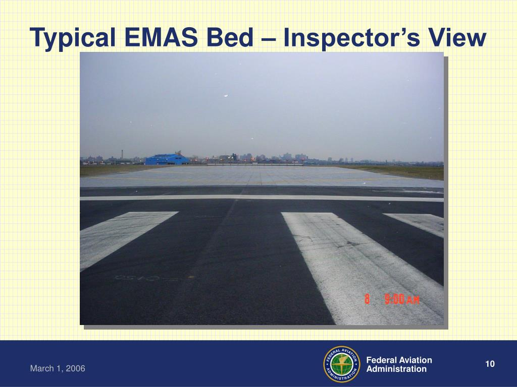 Typical EMAS Bed – Inspector's View