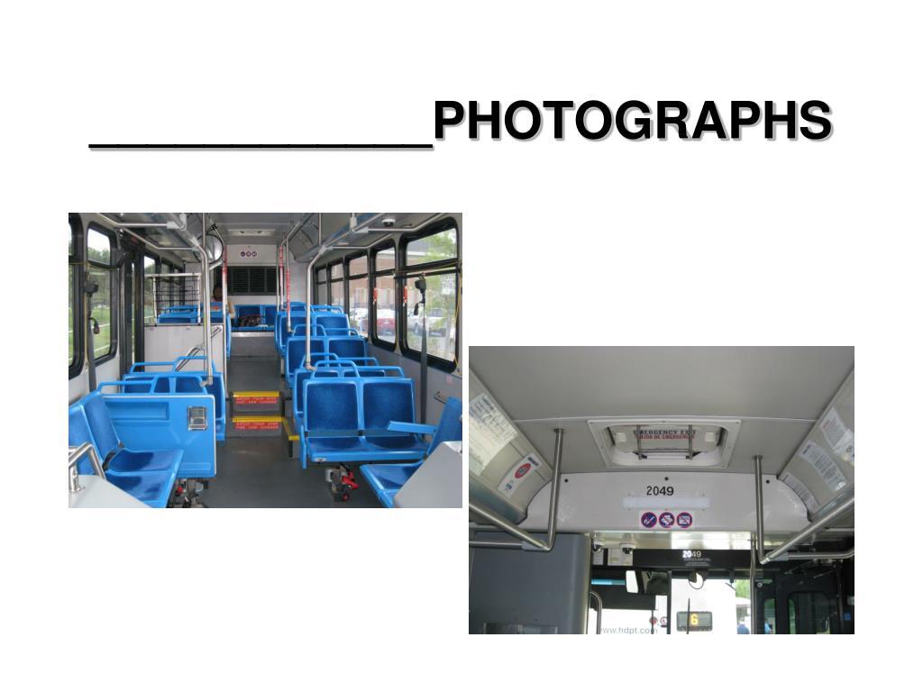 ____________PHOTOGRAPHS
