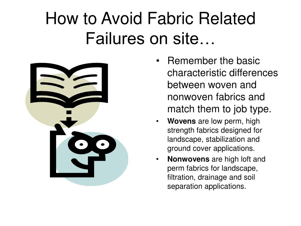 How to Avoid Fabric Related Failures on site…