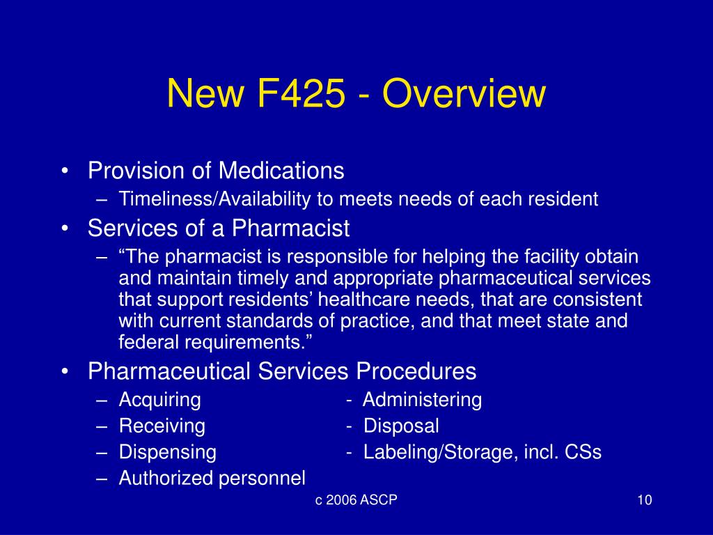New F425 - Overview