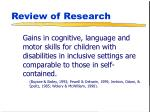 review of research19