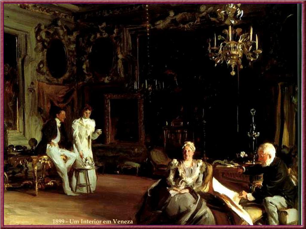 1899 - Um Interior em Veneza