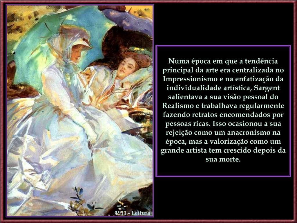 1911 - Leitura