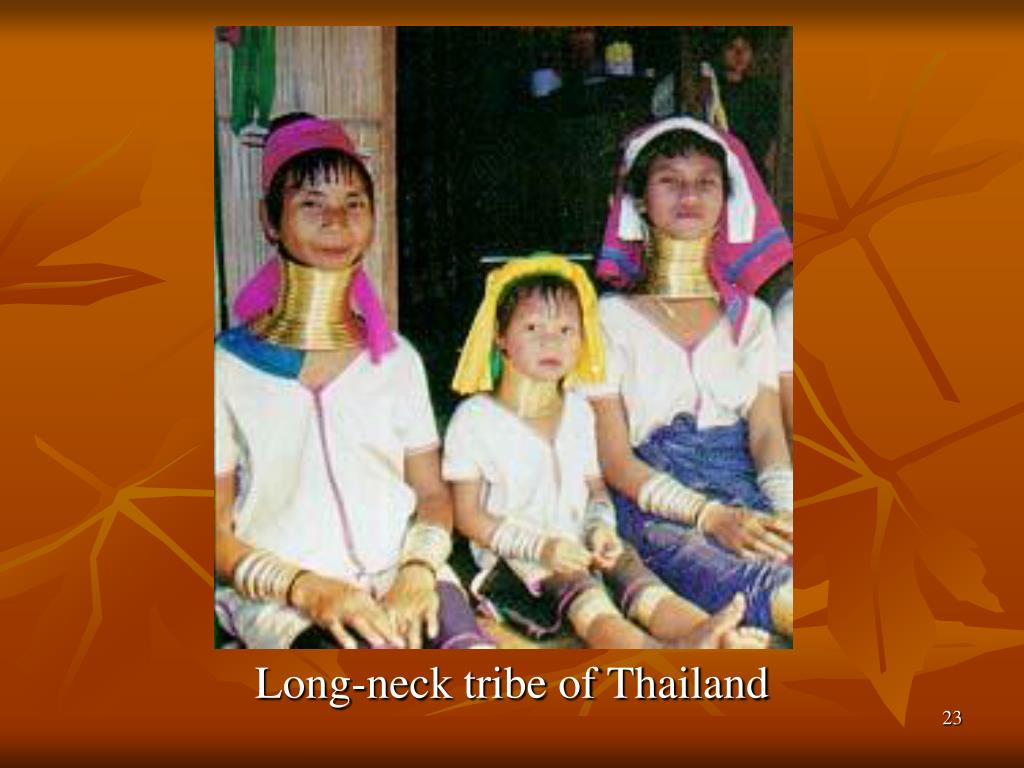 Long-neck tribe of Thailand