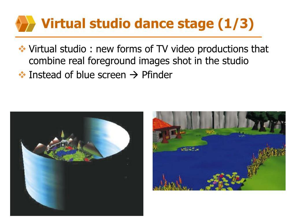 Virtual studio dance stage (1/3)