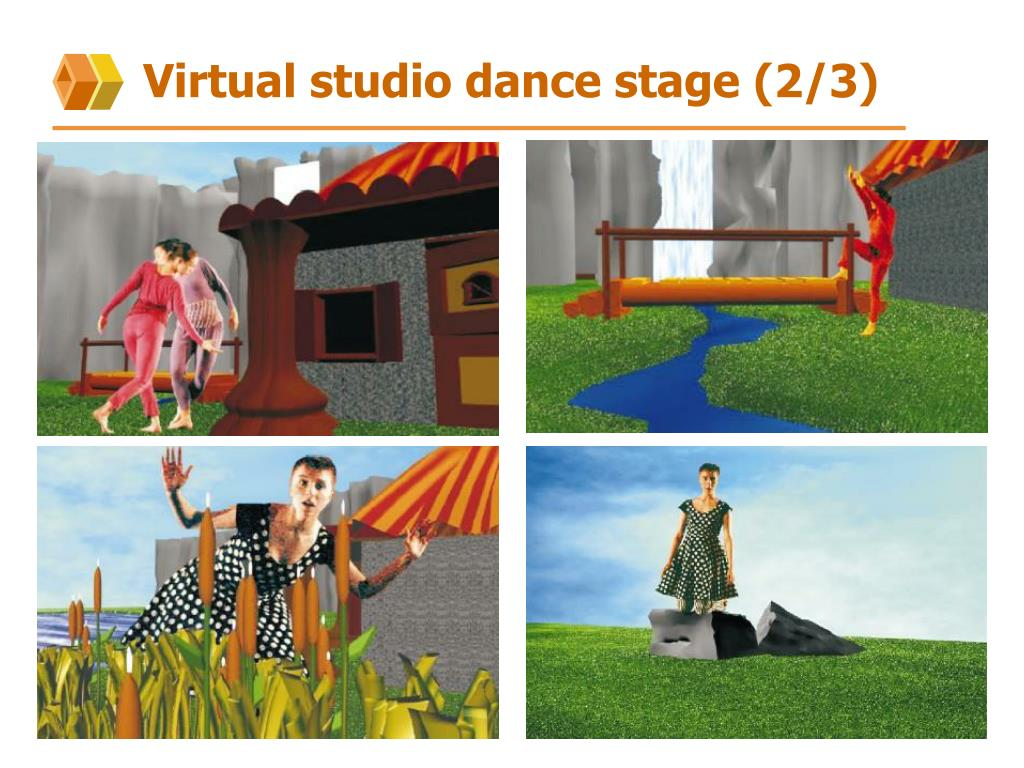 Virtual studio dance stage (2/3)