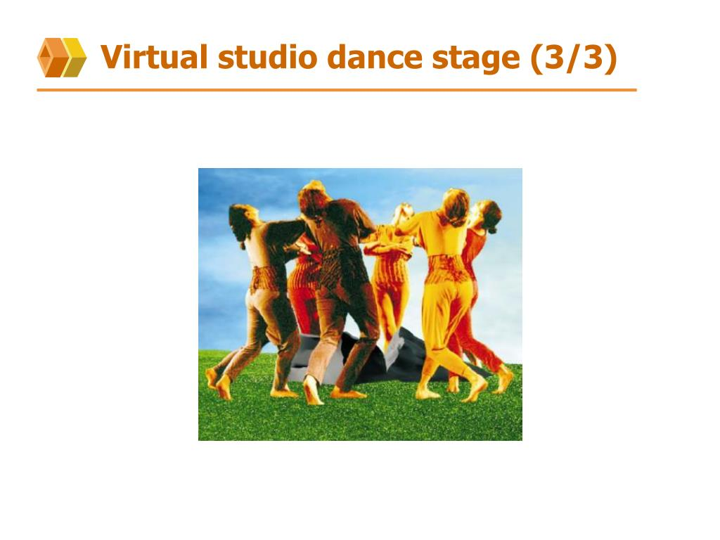 Virtual studio dance stage (3/3)