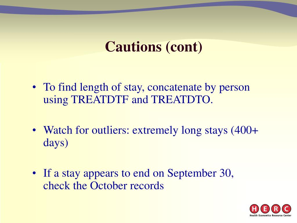 Cautions (cont)
