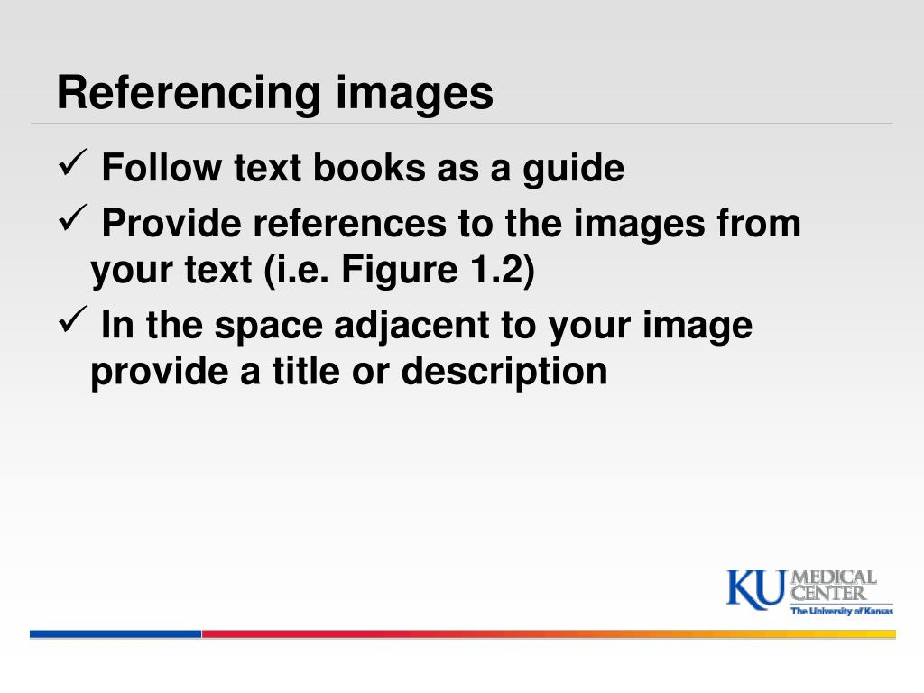 Referencing images