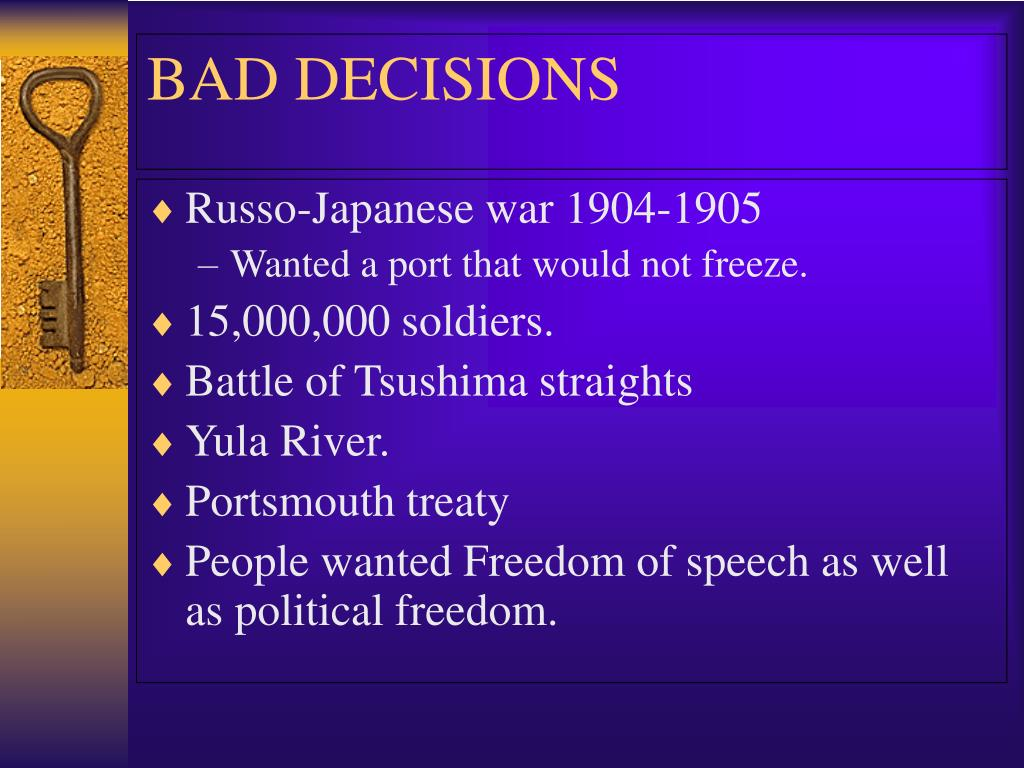 Russo-Japanese war 1904-1905