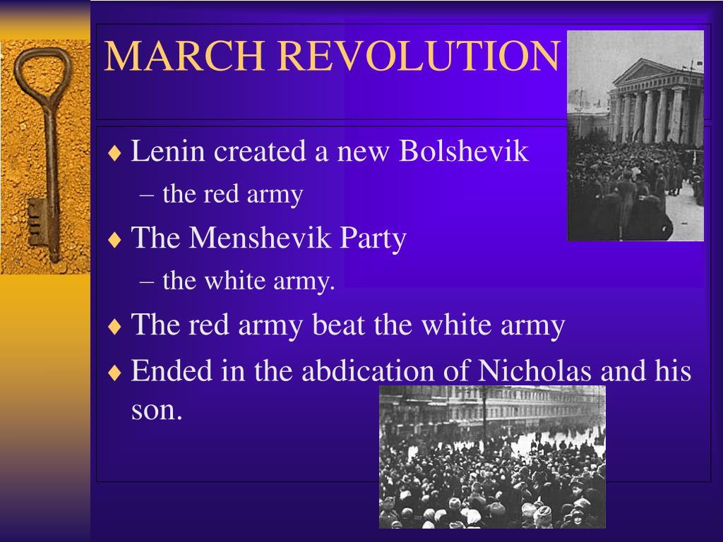 Lenin created a new Bolshevik
