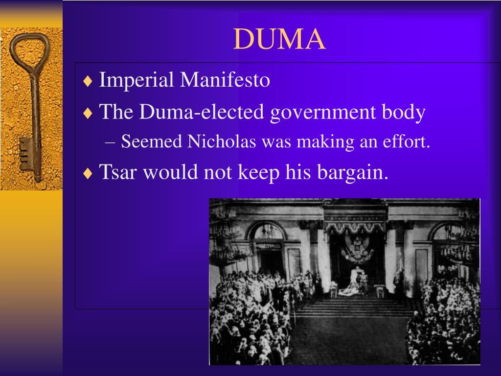 Imperial Manifesto
