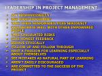 leadership in project management23