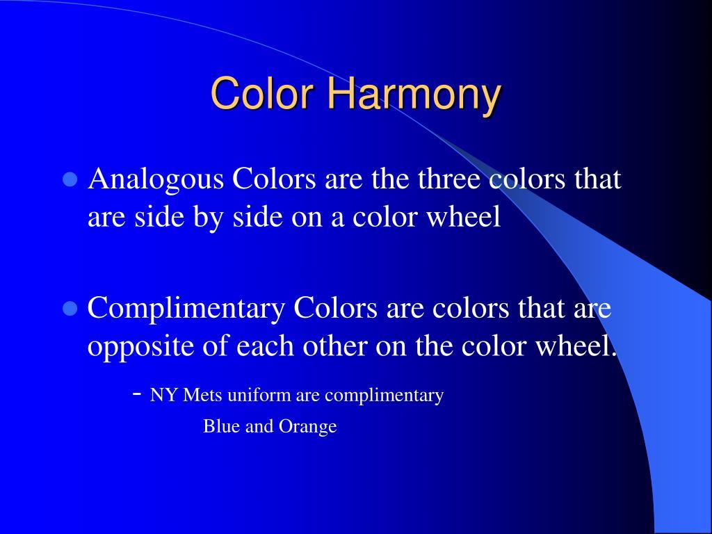 Color Harmony