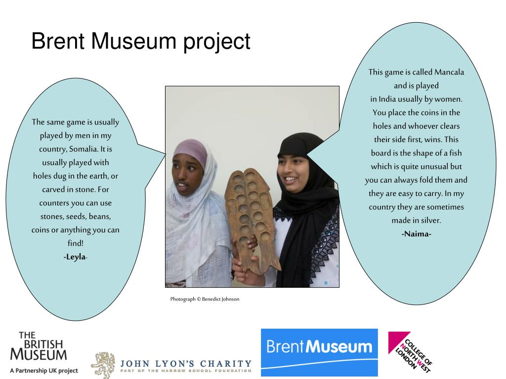 Brent Museum project