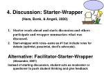 4 discussion starter wrapper hara bonk angeli 2000
