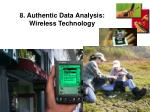 8 authentic data analysis wireless technology