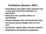 facilitation dennen 200141
