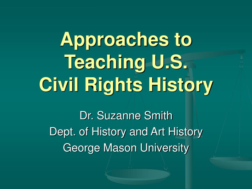 Approaches to Teaching U.S.
