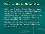civic vs racial nationalism