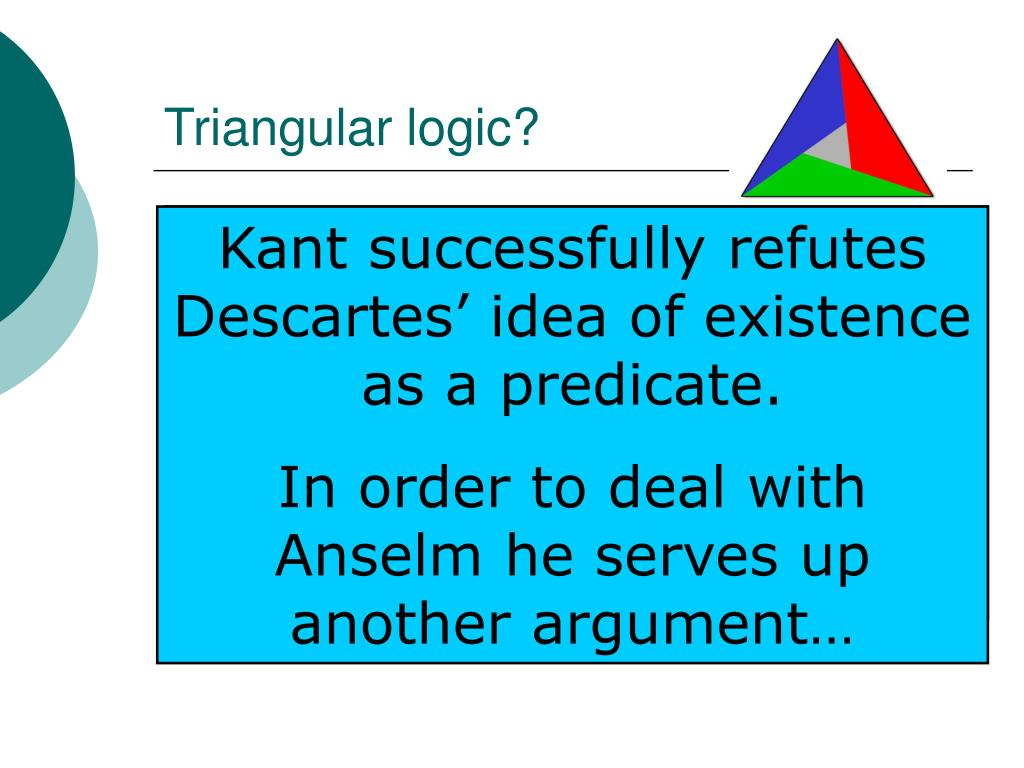 Triangular logic?