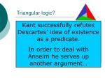 triangular logic