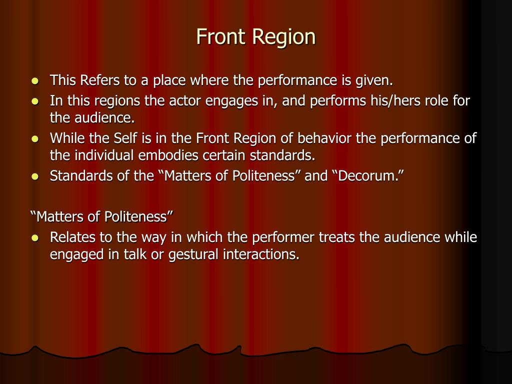 Front Region