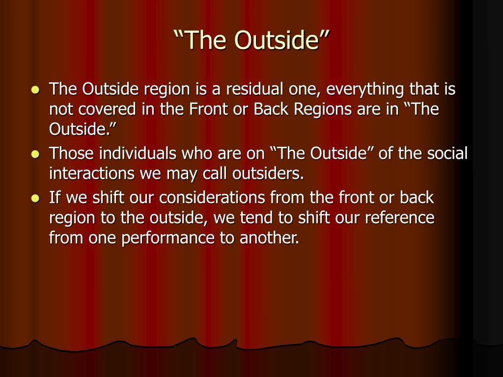 """""""The Outside"""""""