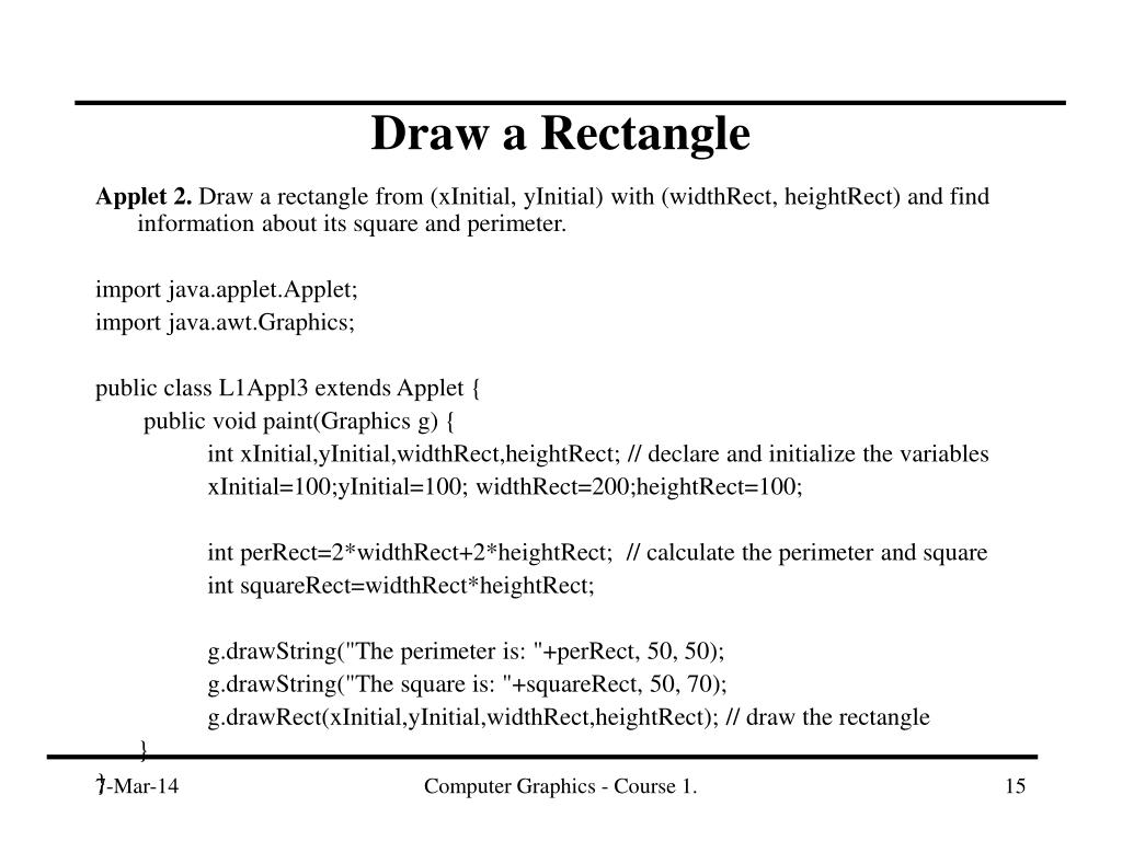 Applet 2.