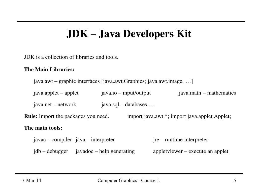JDK – Java Developers K