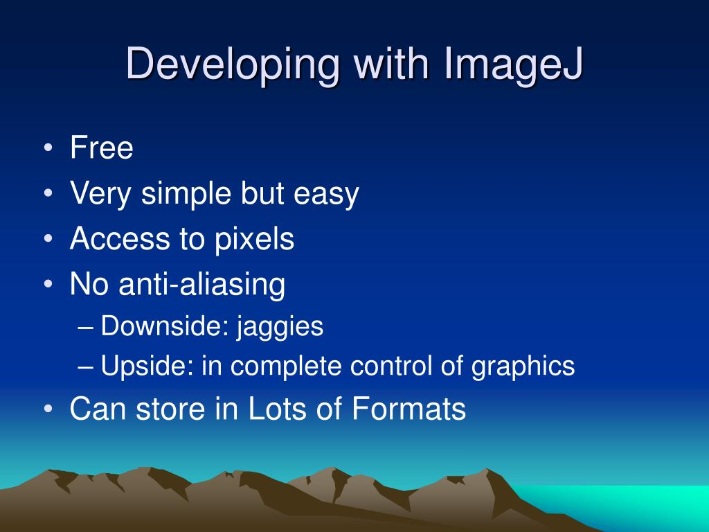 Developing with ImageJ